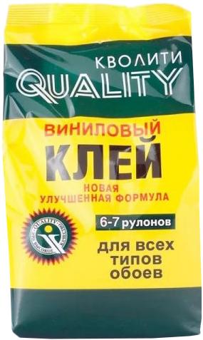 Quality впециальный клей виниловый для всех типов обоев
