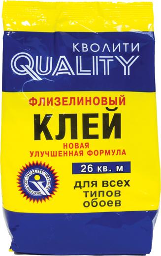 Quality флизелиновый клей для всех типов обоев