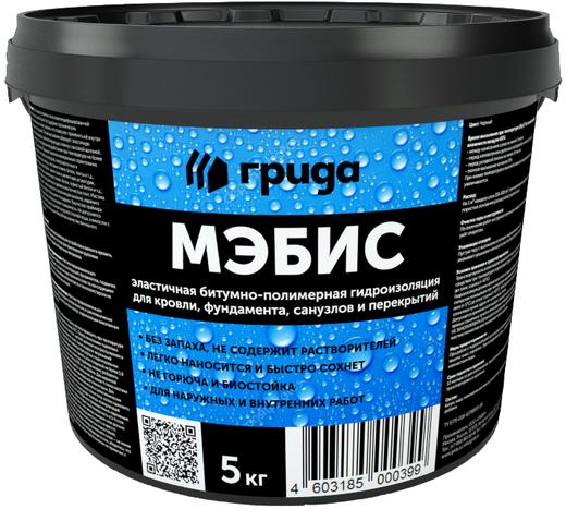 Грида ГидроМЭБ гидроизоляция битумно-полимерная мастика