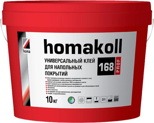 Homa Homakoll Prof 168 универсальный клей для напольных покрытий (20 кг)