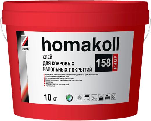 Homa Homakoll Prof 158 клей для ковровых напольных покрытий (14 кг)