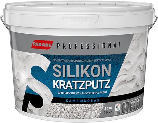 Parade Professional S210 Silikon Kratzputz декоративная силиконовая штукатурка камешковая