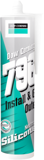 Dow Corning 796 Install & Go Outer герметик силиконовый для ПВХ, алюминия и дерева