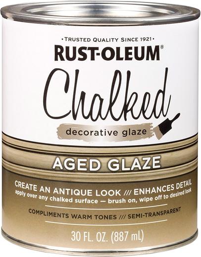 Rust-Oleum Chalked Decorative Glaze декоративная глизаль (887 мл) серый дымчатый
