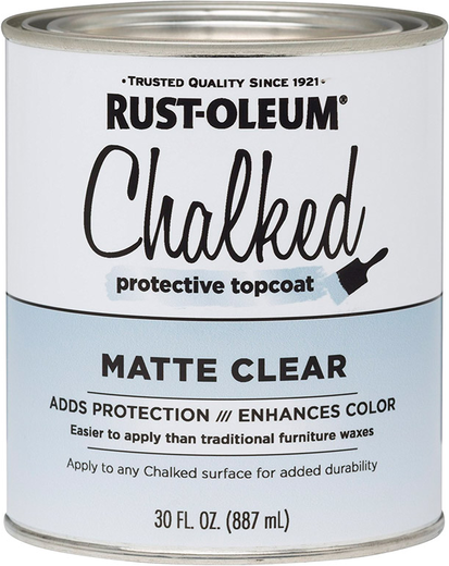 Rust-Oleum Chalked Protective Topcoat защитный лак (887 мл)
