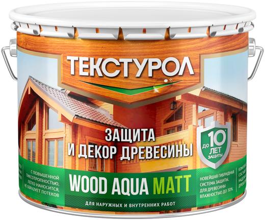 Текстурол Wood Aqua Matt защита и декор древесины