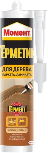 Момент Гермент герметик для паркета, ламината (280 мл) серый