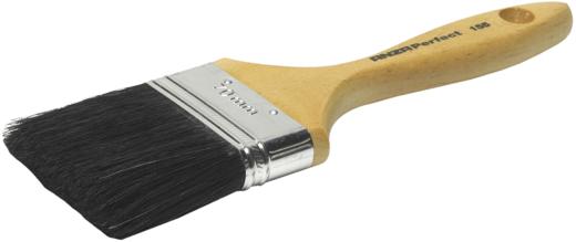 Кисть для красок и лаков Anza (25 мм*12 мм) искуственная пластик