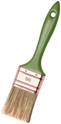 Кисть флейцевая PSPF 70 ПЭТ (50 мм) дерево