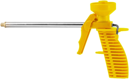 Пистолет для монтажной пены пластмассовый корпус Бибер