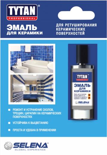 Титан Professional эмаль для керамики (7 мл) белая
