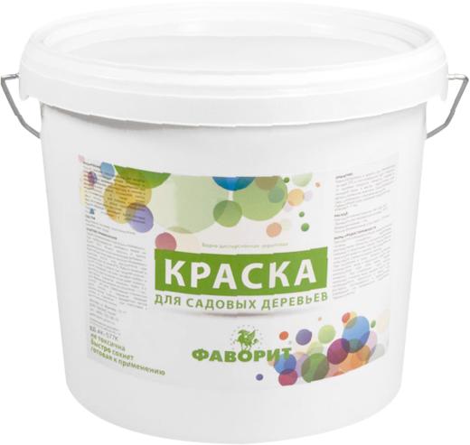 Фаворит ВД-АК-577 К краска для садовых деревьев водно-дисперсионная акриловая
