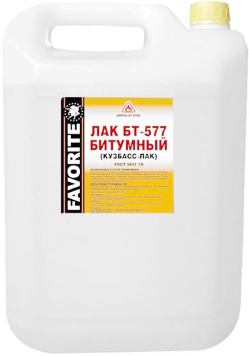 Фаворит БТ-577 лак битумный
