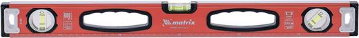Уровень Matrix (1.5 м) коробочный алюминий 3 глазка