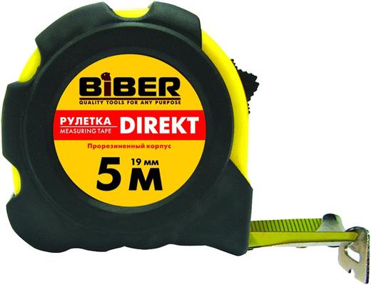 Рулетка Бибер Direkt (5*25 мм) обрезиненный пластик