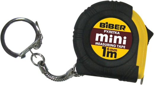 Рулетка Бибер Mini (6 мм) обрезиненный пластик