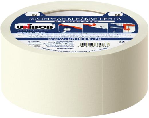 Малярная клейкая лента Unibob
