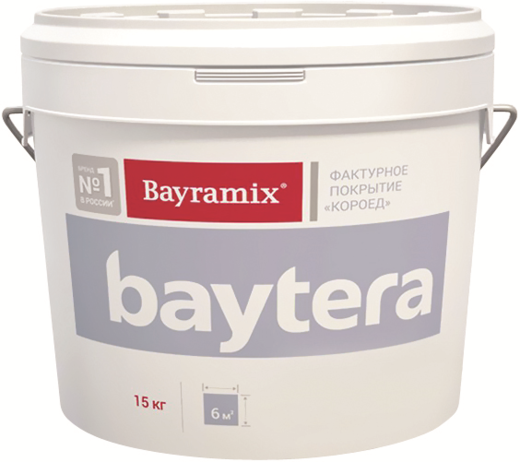 Bayramix Baytera фактурное покрытие короед (15 кг) S короед