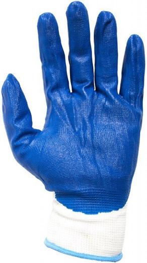 Перчатки маслобензостойкие нейлон