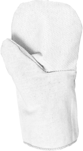 Рукавицы рабочие T4P хлопчатобумажная ткань поливинилхлорид