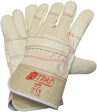 Перчатки Nitras 1410 Top хлопчатобумажная ткань
