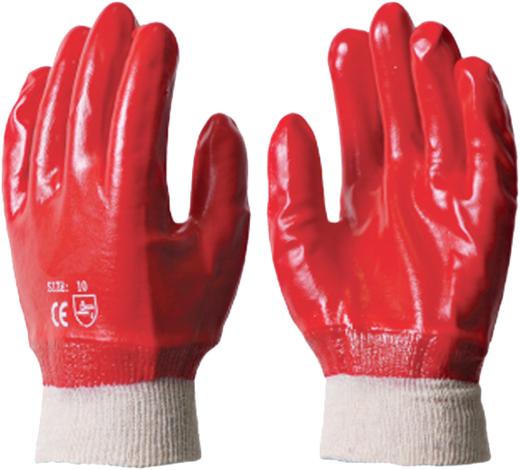Перчатки маслобензостойкие Гранат хлопчатобумажная ткань
