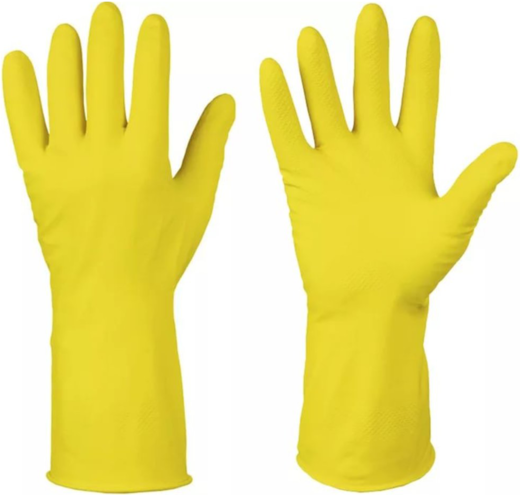 Перчатки хозяйственные (XL) латекс