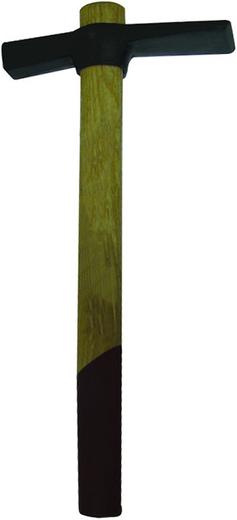 Молоток каменщика Бибер Премиум кованая сталь дерево