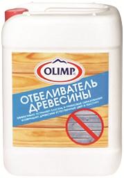 Олимп состав для отбеливания и дезинфекции поверхности древесины (10 л) бесцветный