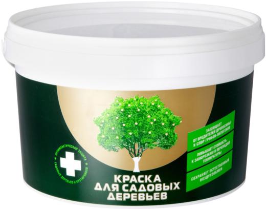 Эксперт краска для садовых деревьев (2.7 кг) белая