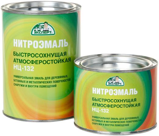 Эксперт НЦ-132 М быстросохнущая эмаль (1.7 кг) оранжевая