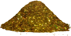 Bioplast Люрекс голографические декоративные блестки (10 г) золото