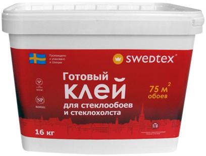 Swedtex готовый клей для стеклообоев и стеклохолста (10 кг)