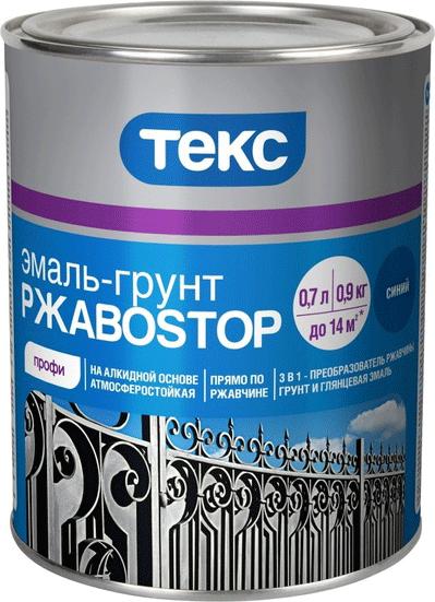 Текс Профи РжавоStop эмаль-грунт (2 кг) коричневая