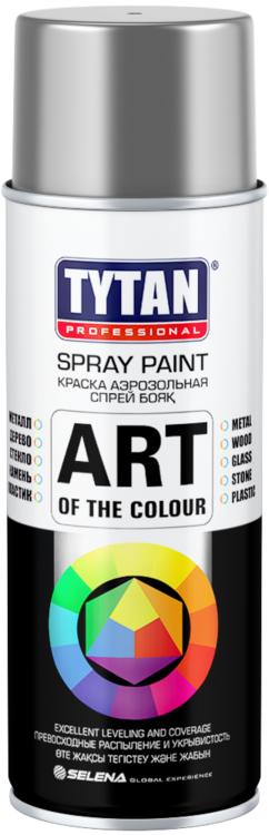 Титан Professional Spray Paint Art of the Colour краска аэрозольная (400 мл) черная матовая