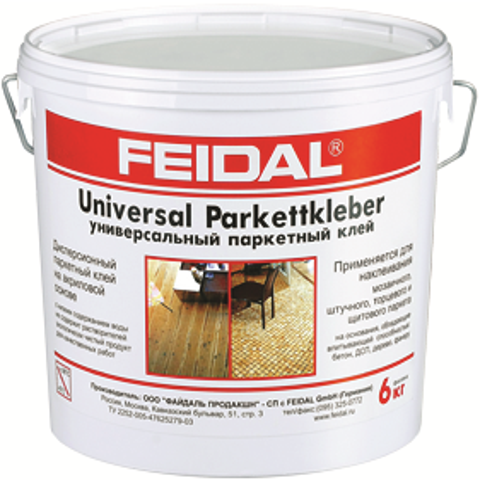 Feidal Novatic Universal Parkettkleber универсальный паркетный клей (20 кг)