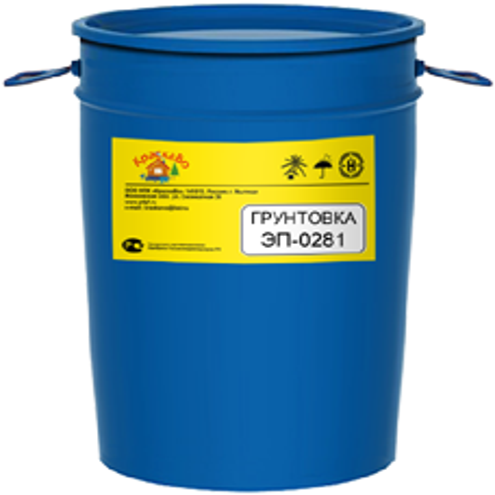 КраскаВо ЭП-0281 грунтовка двухкомпонентная (полуфабрикат 50 кг)