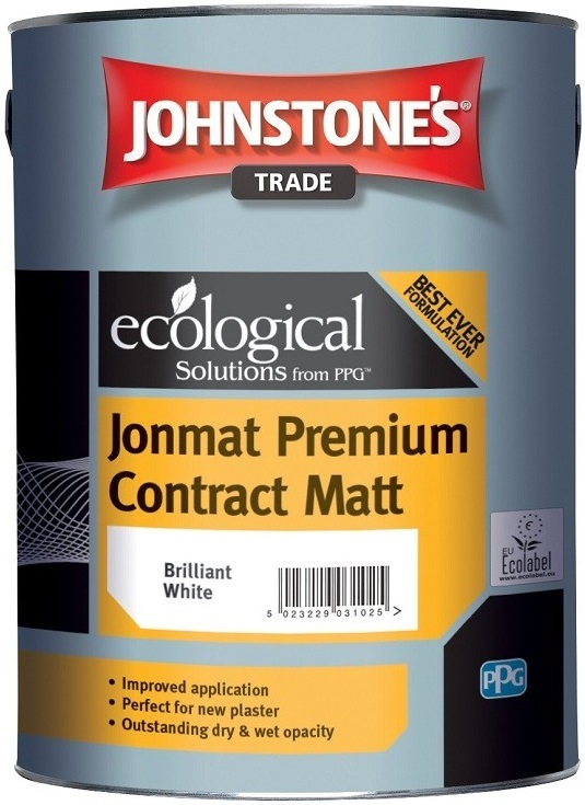 Johnstone's Jonmat Premium Contract Matt краска интерьерная (10 л) белая