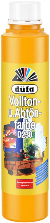 Dufa Vollton und Abtonfarbe D230 колеровочная краска (750 мл) №114 черная
