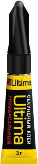 Ultima универсальный супер-клей гель секундный (3 г)