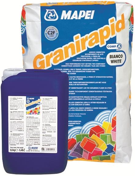 Mapei Granirapid клей для плитки двухкомпонентный (25 кг)