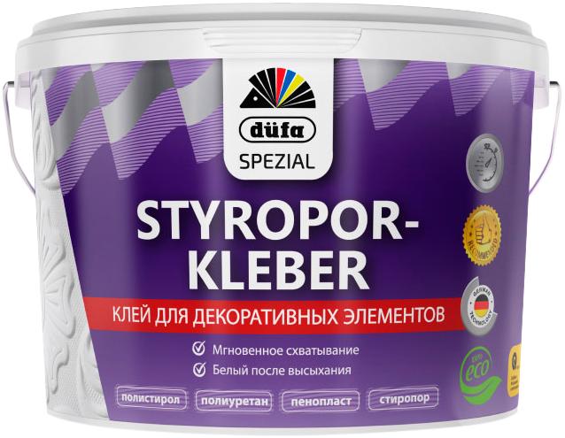 Dufa Styroporkleber клей стиропоровый для декоративных элементов (3 кг)