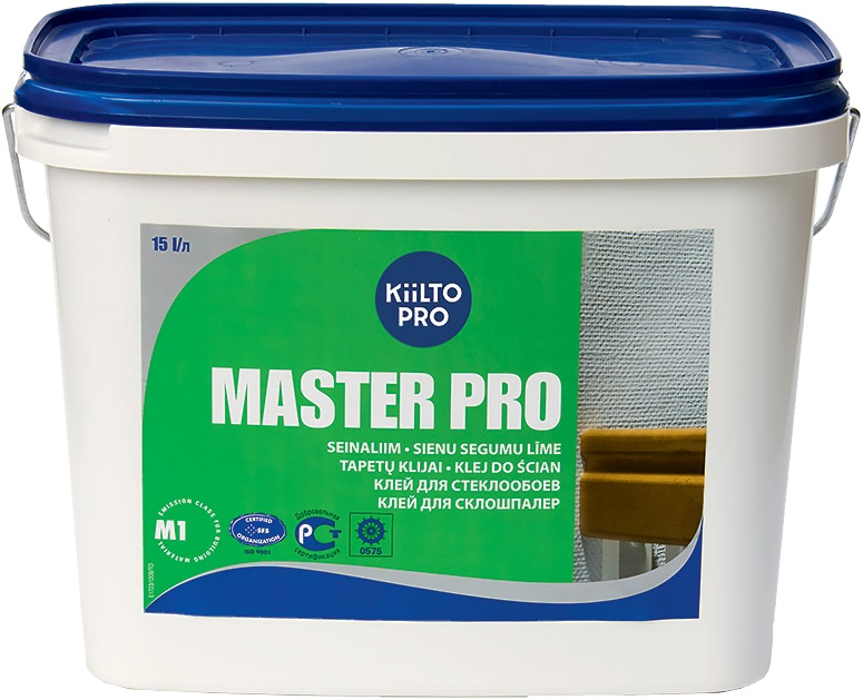 Kiilto Pro Master Pro клей для стеклообоев (15 л)