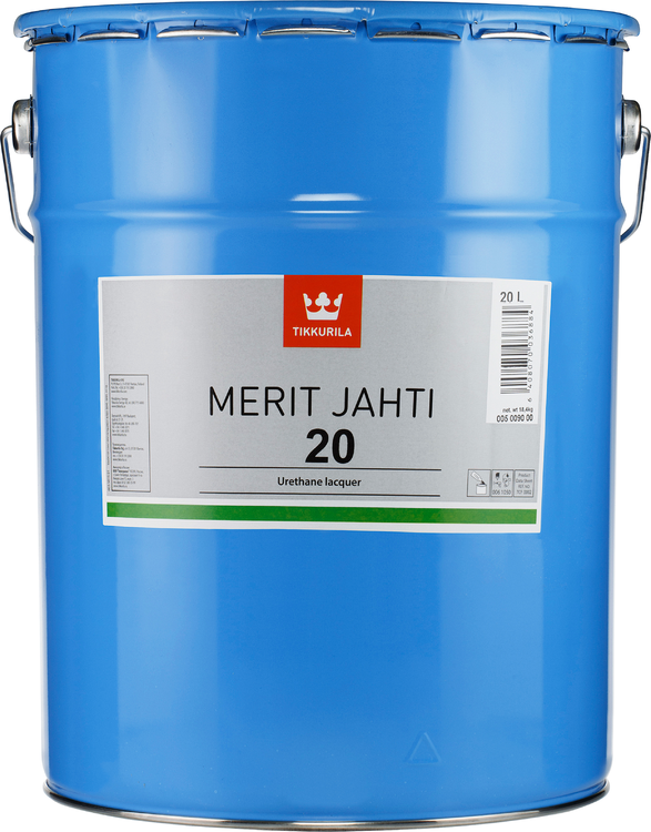 Тиккурила Merit Jahti 20 уретано-алкидный лак для деревянных поверхностей (20 л)