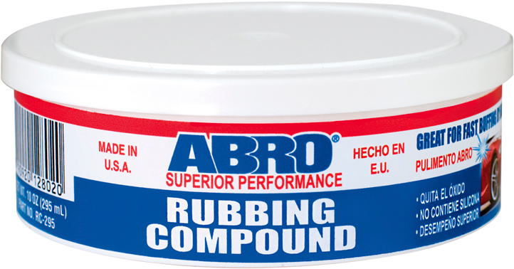 Abro Rubbing Compound паста полировочная крупнозернистая (295 мл)