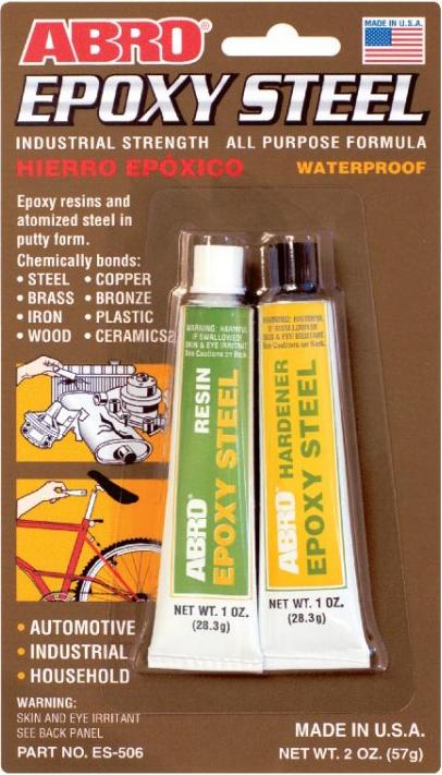 Abro Epoxy Steel клей эпоксидный универсальный (57 г)