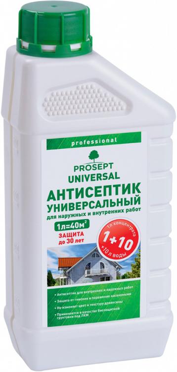 Просепт Universal антисептик универсальный для наружных и внутренних работ (1 л)