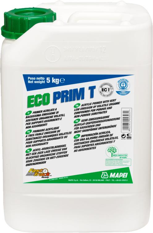 Mapei Eco Prim T акриловая вододисперсионная грунтовка без растворителей (5 кг)