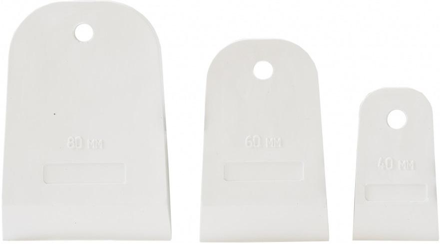 Набор шпателей Кедр Euro (40, 60, 80 мм)