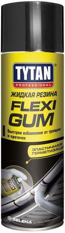 Титан Professional Flexi Gum жидкая резина (400 мл) черная